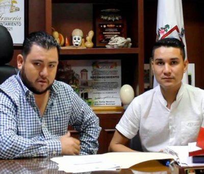 Anuncia Salvador Bueno tinacos y cisternas a bajo costo para todos los armeritenses