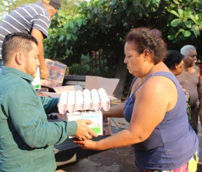 Más de 2 mil 700 familias se han beneficiado con diversos apoyos: Salvador Bueno