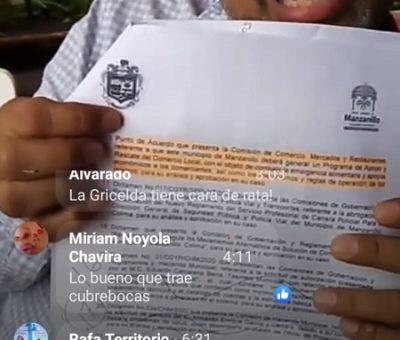 Recula Griselda Martínez: vota en contra de reducción de sueldo y quitar apoyo de gasolina a regidores