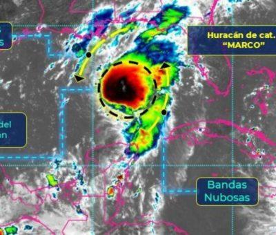 """Marco"" se convierte en huracán categoría 1, no pegará a costas de Colima"
