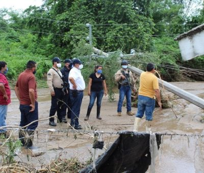 TT Hernán afectó la infraestructura hidráulica y eléctrica en el Cereso de Manzanillo: SSP