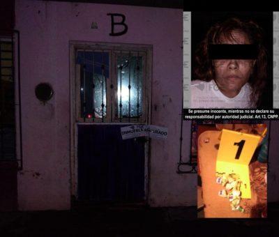 En Tecomán, FGE asegura droga y detiene a una mujer en cateo