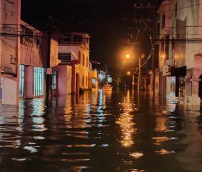 Lluvia de esta noche – madrugada deja inundaciones y afectaciones en Colima y Manzanillo: PC