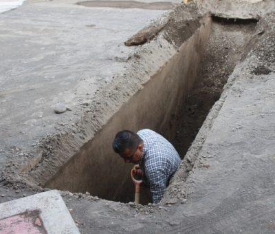 Rehabilitan alcantarillas en la comunidad de Cuyutlán
