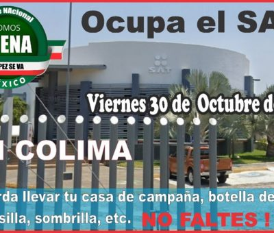 Se manifestarán en Colima por desaparición de fideicomisos e incremento de impuestos