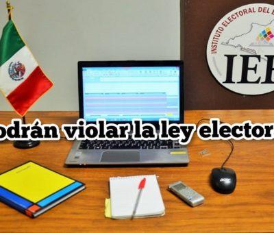 El IEE monitoreará precampañas y campañas electorales locales en radio y televisión