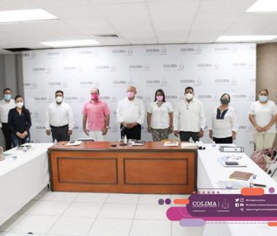 Sesiona Comisión de Seguimiento de Alerta de Violencia de Género contra las Mujeres en Colima