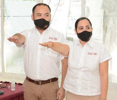 Toma protesta la nueva dirigencia del Movimiento PRI.Mx en Colima