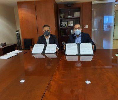 Firman convenio para combatir en Colima el lavado de dinero