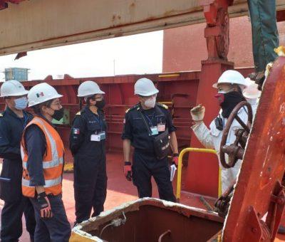 Personal de la SEMAR realiza «Curso de Oficial de Supervisión de Seguridad Marítima»