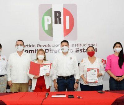 Entrega CNOP nombramientos a delegadas en los municipios de Colima y Armería
