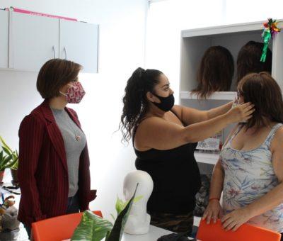 Logran eliminar lista de espera de pelucas oncológicas