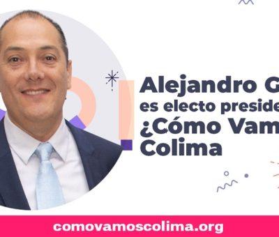 Alejandro Gaitán, nuevo presidente de ¿Cómo Vamos? Colima