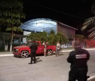 Se refuerza seguridad en Cerro de Ortega y se aplican 105 operativos el fin de semana