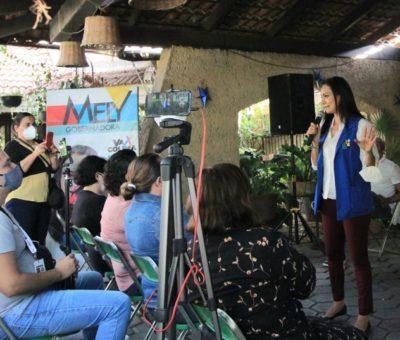 Mely Romero representa a quienes salen adelante con trabajo, aseguran capitalinos