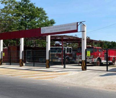El cuartel de Bomberos Voluntarios de Manzanillo,en riesgo de cerrar sus puertas por una multa del SAT.