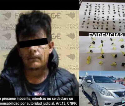 En Colima, cae otro por narcomenudeo