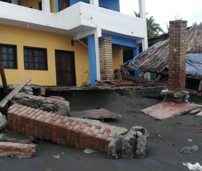 34 enramadas afectadas, saldo hasta el momento del «huracán Enrique»