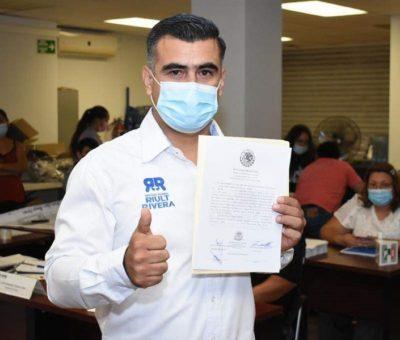 Recibe Riult Rivera constancia de mayoría como Diputado Federal Electo por el Distrito I