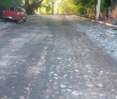 Continúa Ayuntamiento realizando obras en el municipio