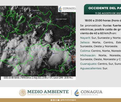 Tormenta tropical «Linda» se ubica frente a las costas de Colima