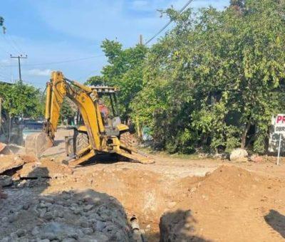 Rehabilita Ayuntamiento drenaje en la colonia Linda Vista