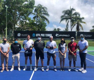 Por primera vez se realizó en Manzanillo el serial de Tenis UTR