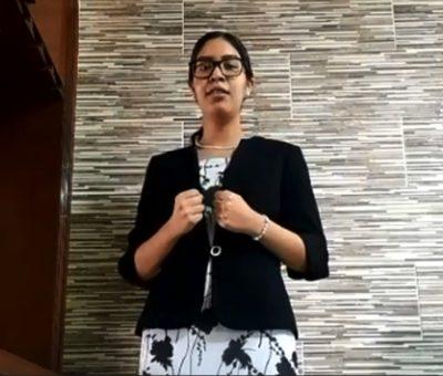 """Gana alumna del Bachillerato 4 concurso regional de oratoria """"Amado Nervo"""""""