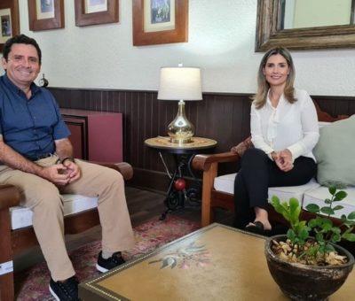 Se reúnen Margarita Moreno y Leoncio Morán