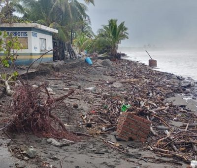 En El Paraíso 20 enramadas y una casa sufrieron daños entre un 65 y 100 %