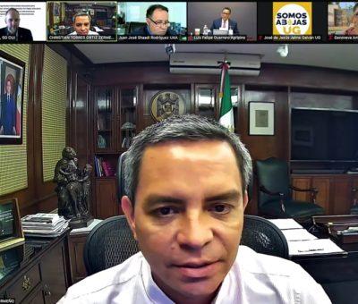 Proponen a rector Christian Torres Ortiz como vicepresidente suplente de la OUI México