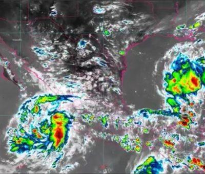 Se forma Depresión Tropical «15-E» frente a costas de Colima y Jalisco