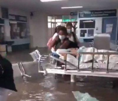 ¡Otra tragedia!: mueren 17 pacientes hospitalizados tras desbordarse río