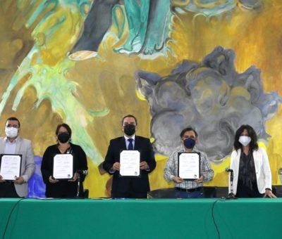 Firman convenio de colaboración UdeC y Memoria Histórica y Cultural de México