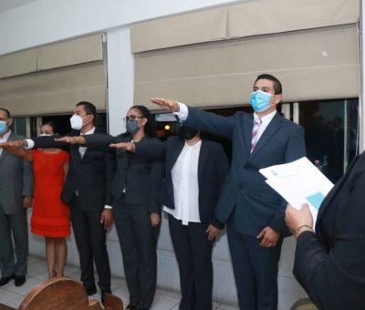 Aprueban nombramientos en primera sesión de cabildo en Cuauhtémoc